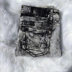 Daytrip Lynx Skinny Acid Wash Jeans Size 26